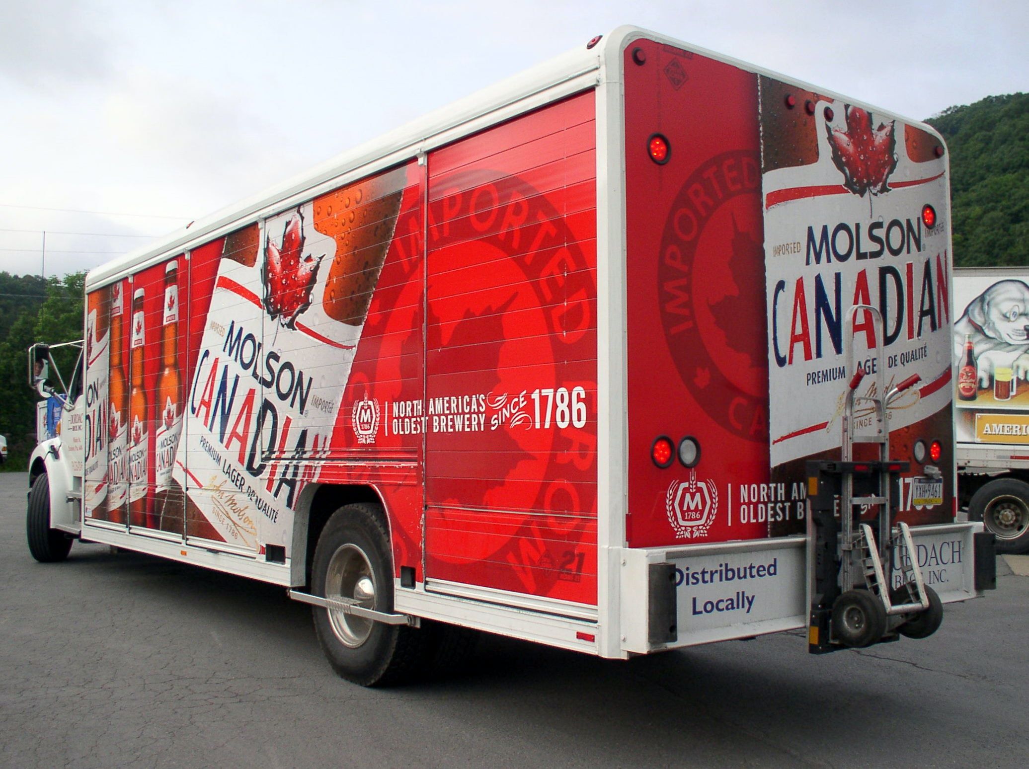 Molson Canadian Brewing Truck